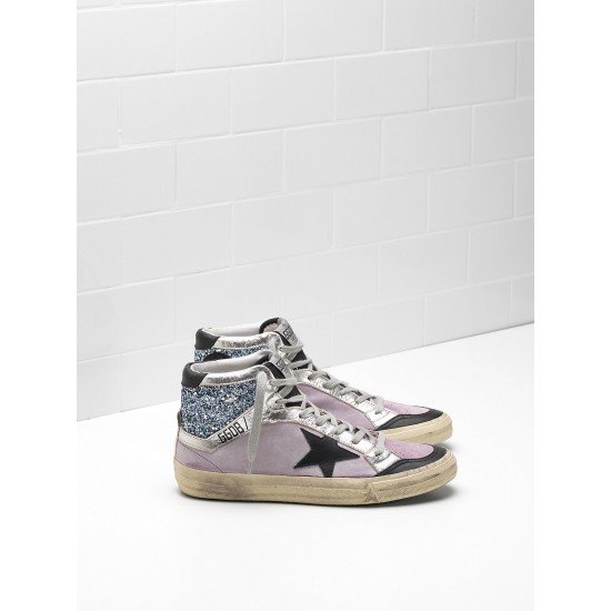 Men's/Women's Golden Goose 2.12 Sneakers Calf Suede Upper Star In Leather