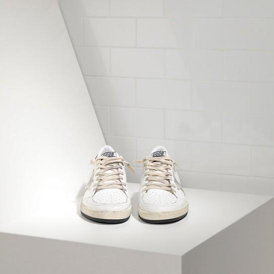 Men's/Women's Golden Goose sneakers ball star in white ice star