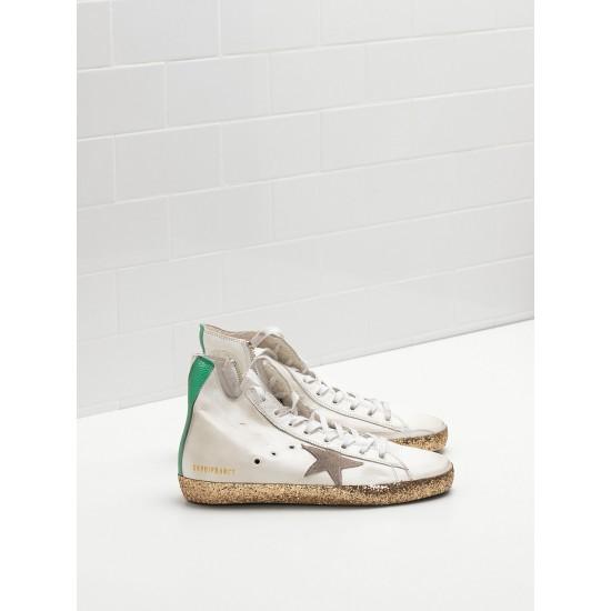 Men's/Women's Golden Goose francy golden sneakers star in golden star logo