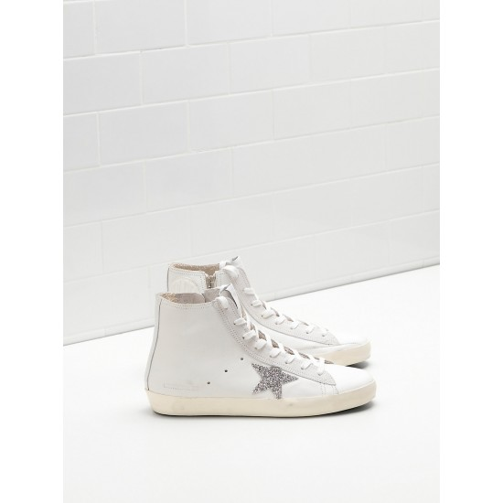 Men's/Women's Golden Goose francy sneakers limited edition with swarovski crystal
