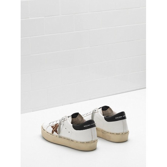 Men's/Women's Golden Goose hi star sneakers ponyskin effect leather star