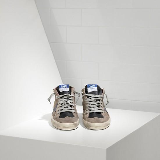 Men's/Women's Golden Goose sneakers mid star in camoscio e stella glitter