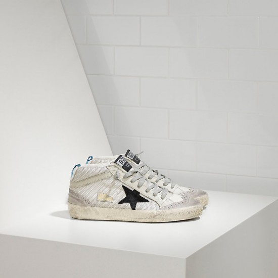 Men's/Women's Golden Goose sneakers mid star in tessuto tecnico e stella in Grey