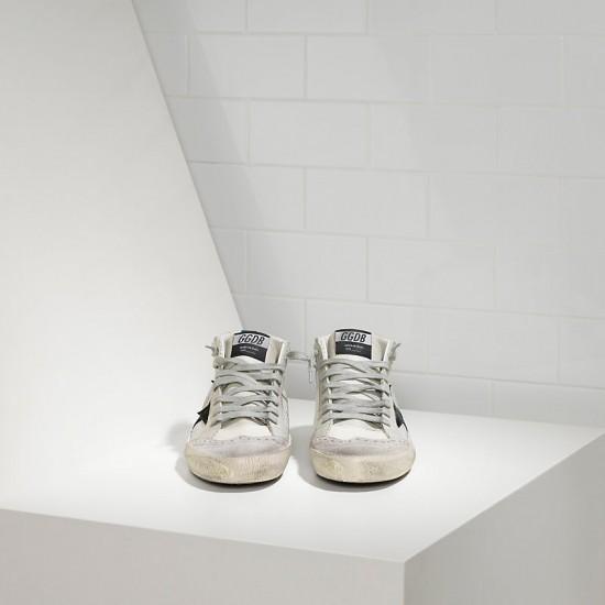Men's/Women's Golden Goose sneakers mid star in tessuto tecnico e stella in Grey