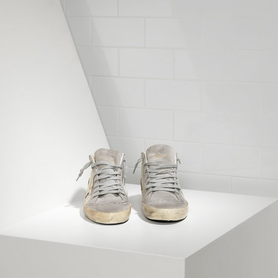 Men's/Women's Golden Goose sneakers mid star white gold star