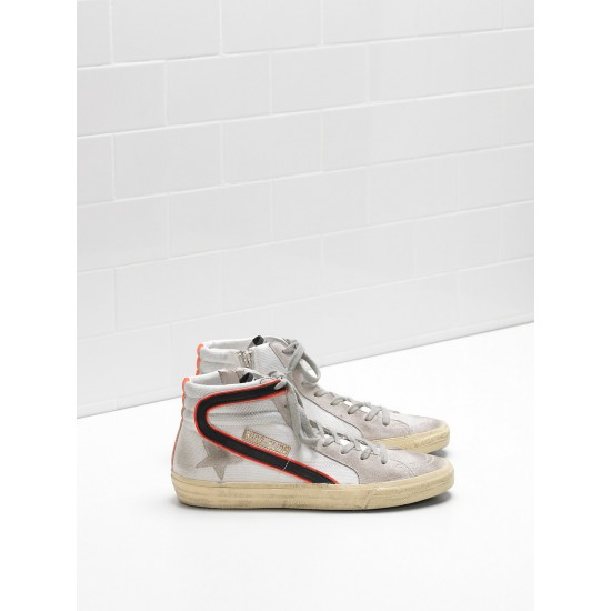 Men's/Women's Golden Goose slide sneakers in ren balck
