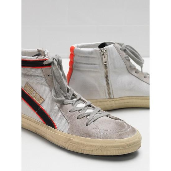 Men's/Women's Golden Goose slide sneakers in ren balck