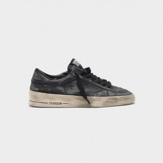 Men's/Women's Golden Goose stardan ltd sneakers in total black leather