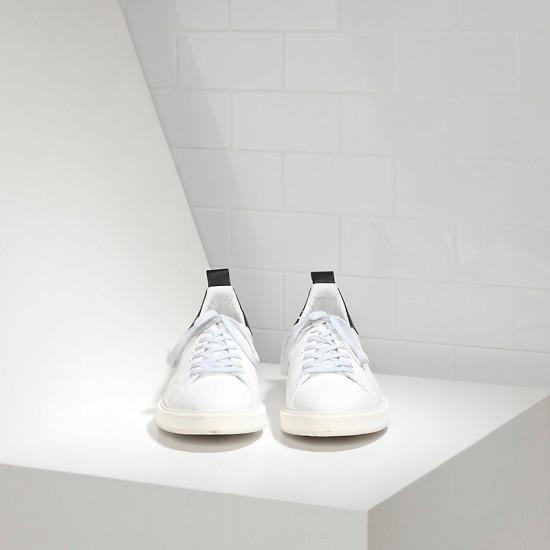 Men's Golden Goose sneakers starter in white black
