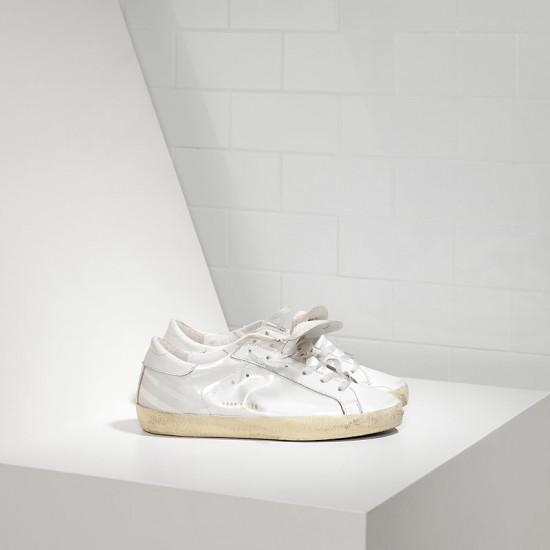Men's Golden Goose sneakers superstar in light white