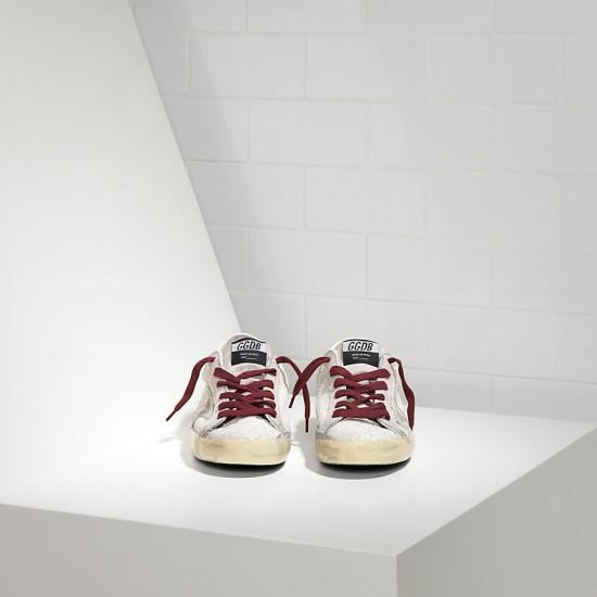 Men's/Women's Golden Goose sneakers superstar white glitter