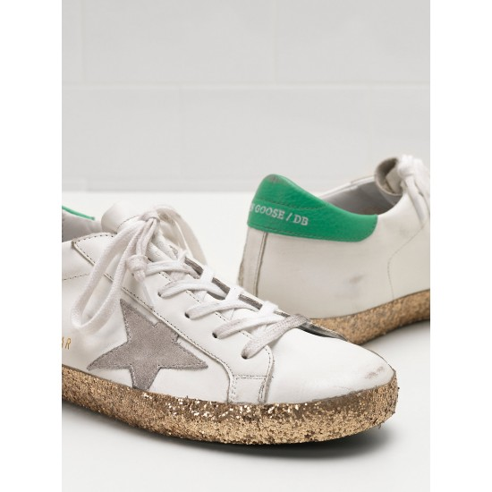 Men's/Women's Golden Goose superstar sneakers suede star rubber sole smeare
